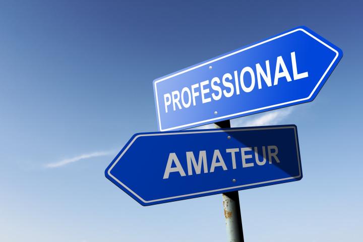 Rester amateur ou devenir un pro ?