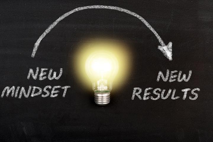 Un nouveau mindset a pour effet nouveau résultats